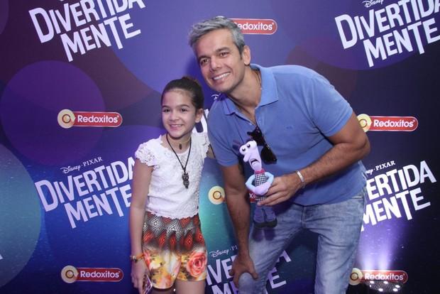 Otaviano Costa e Mel Maia (Foto: Thyago Andrade / Foto Rio News)