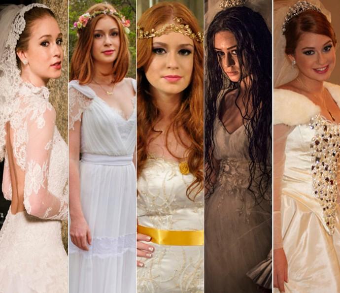 8b8a22e56 Marina Ruy Barbosa já se casou cinco vezes na TV; vote no seu ...