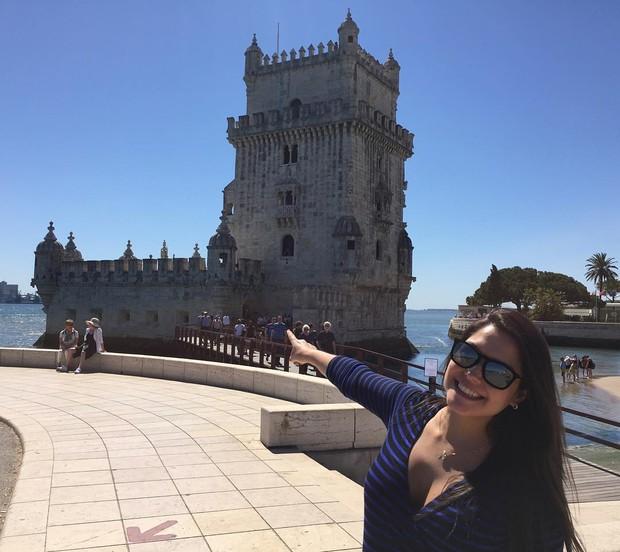 Thais Fersoza em Portugal (Foto: Reprodução / Instagram)