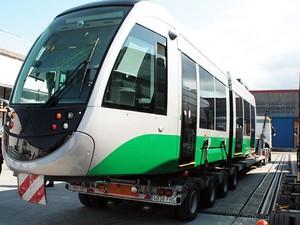 VLT que será instalado em Cuiabá (Foto: Diogo Carvalho/Secopa)