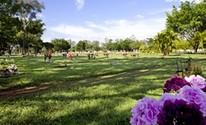 Cemitério particular em Santarém terá capacidade para 25 mil túmulos (Reprodução / Site Cemitério da Paz)