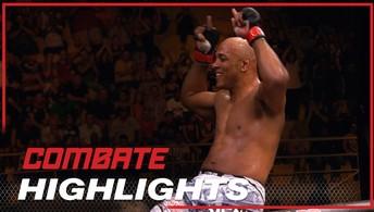Confira os melhores momentos do  meio-pesado Marcos Pezão no UFC