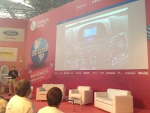 Na Campus Party 2014, Ford anuncia programa de desenvolvimento de apps para o Brasil (Foto: Bruno Araujo/G1)