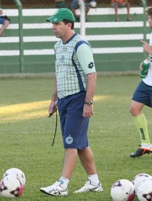Enderson Moreira comanda treino no Goiás (Foto: Rosiron Rodrigues / Goiás E.C.)