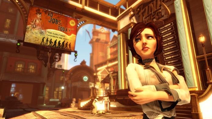BioShock Infinite é game de sucesso no Xbox 360, PS3 e PC (Foto: Divulgação/2K Games)