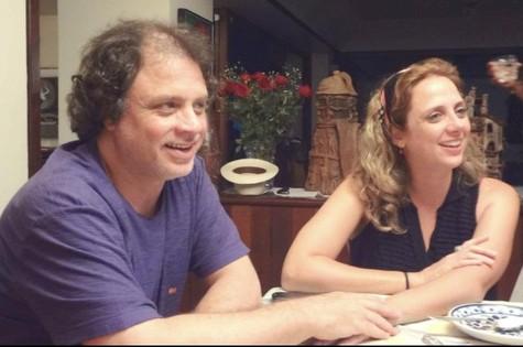 Letícia Isnard e Isaac Bernat (Foto: Arquivo pessoal)