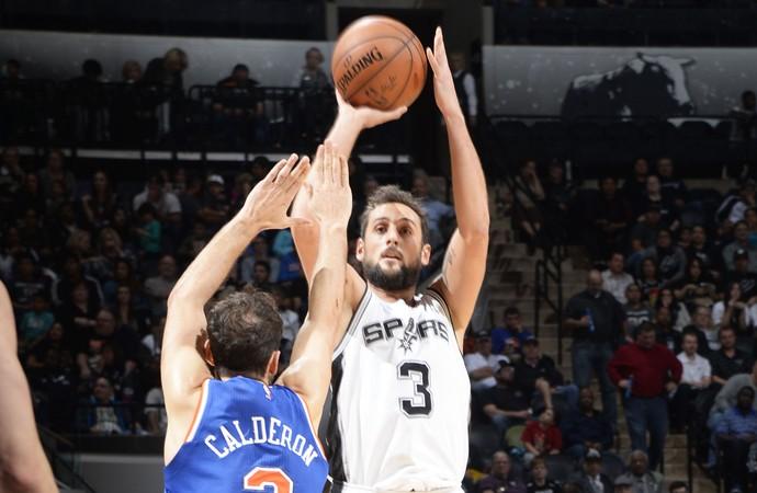 Marco Belinelli Spurs x Knicks NBA (Foto: Getty)