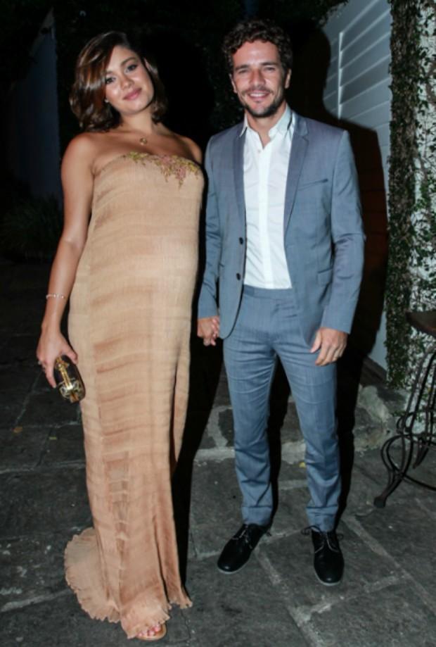 Sophie Charlotte e Daniel de Oliveira (Foto: Marcello Sá Barretto / AgNews)