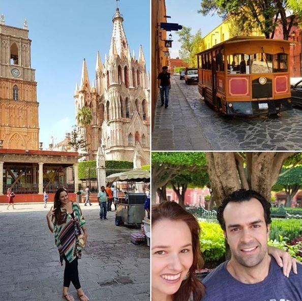 o casal posa na cidade de San Miguel de Allende, no México  (Foto: Reprodução Instagram )