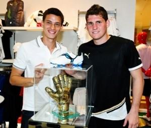 Destaque na base, Guido já treina com Rafael (Foto: Divulgação)