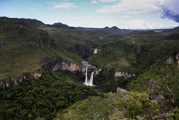 Alto paraíso-parque-chapada (Foto: Marcelo Camargo/Agência Brasil)