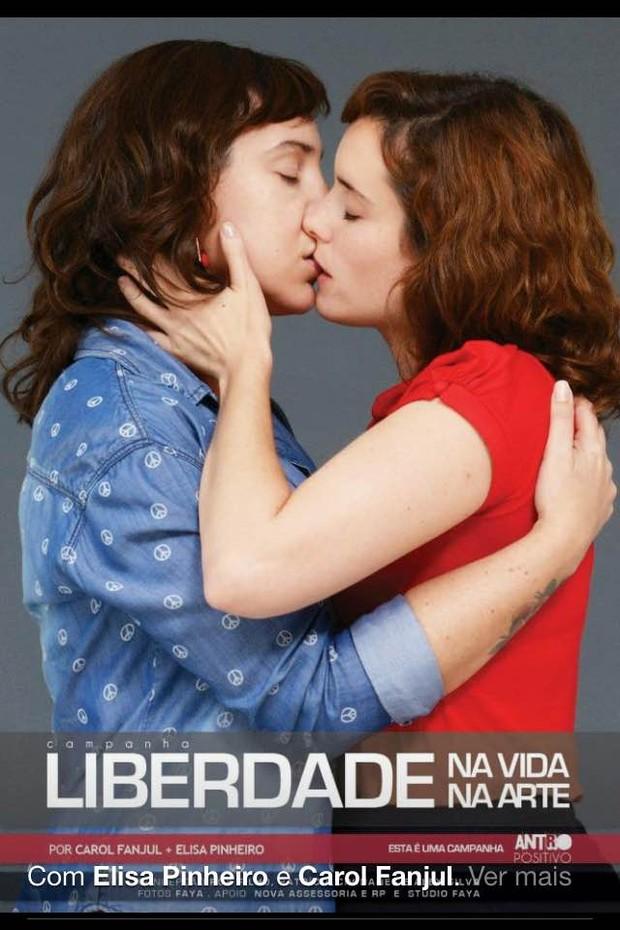 Famosos em campanha contra homofobia (Foto:  Divulgação/Faya)