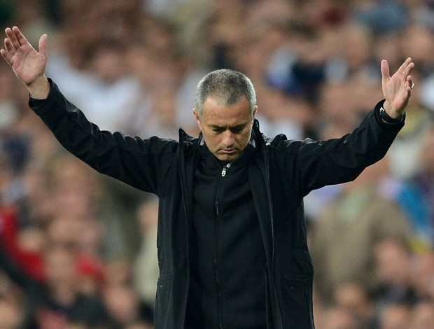 José Mourinho Real Madrid x Bayern (Foto: Getty Images)