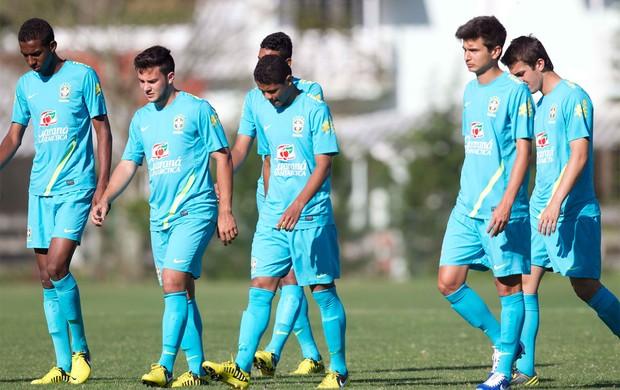 Douglas Santos na Seleção Sub-20 (Foto: Divulgação/CBF)