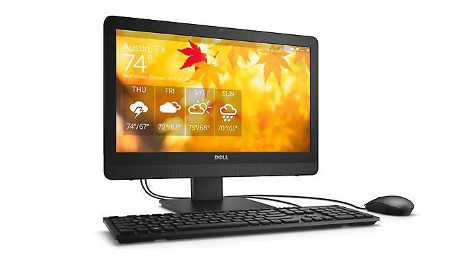 Até o modelo mais simples é uma boa opção de all-in-one (Foto: Divulgação/Dell)