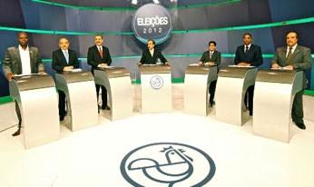 Debate TV Aratu Bahia Salvador (Foto: Divulgação/ TV Aratu)
