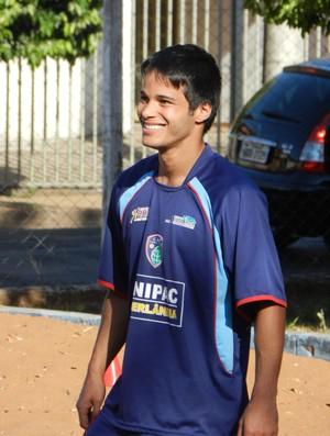 Atacante Daniel Morais  (Foto: Gullit Pacielle)