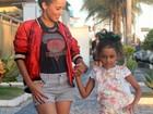 Maytê Piragibe posa com a filha e fala da relação das duas: 'Minha parceira'