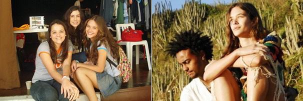A menina popular namora com cara mais velhos e descobre gravidez na adolescência (Foto: Divulgação/reprodução)