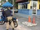 Motocicleta roubada em Belém é recuperada pela PRF em Castanhal