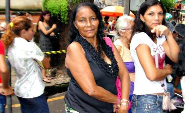 Ação Mulher 2014 (Foto: Bianca Teixeira)