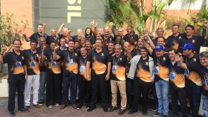 Novo presidente da CBB, Guy Peixoto teve apoio de maioria dos ex-atletas e federações (Foto: Thales Soares / Globoesporte.com)