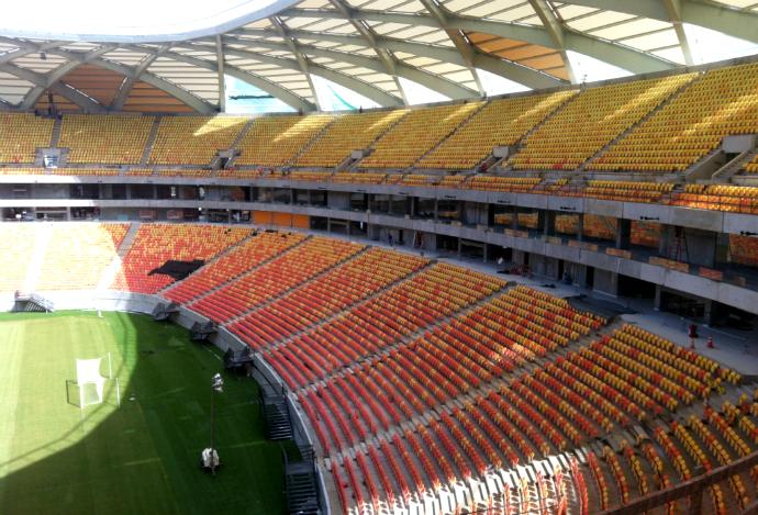 Assentos Arena da Amazônia (Foto: Divulgação)