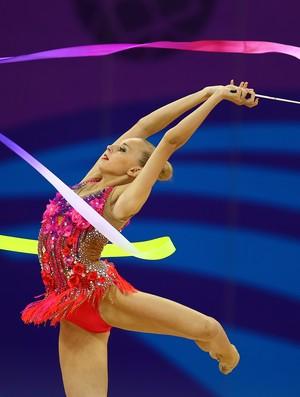Yana Kudryavtseva é uma das musas do Mundial de GR (Foto: Getty Images)