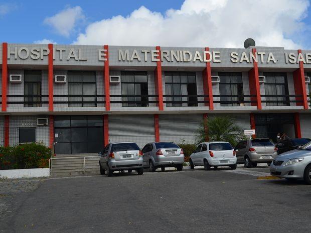 Maternidade Santa Izabel em Aracaju (Foto: Flávio Antunes/G1 SE)