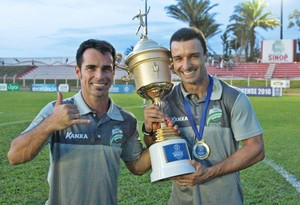 Maico Gaúcho, Luverdense, Júnior Rocha (Foto: Assessoria/Luverdense Esporte Clube)