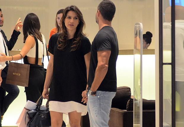 Malvino Salvador e Kyra Gracie (Foto: Fabio Moreno/AgNews)
