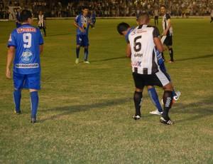 Treze x Atlético de Cajazeiras, no Presidnete Vargas (Foto: Silas Batista / GloboEsporte.com/pb)