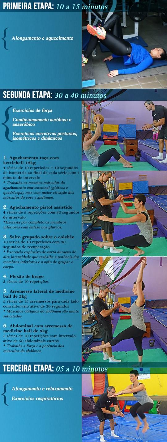 Conhea o treino de emagrecimento e definio muscular da atriz Camila Rodrigues (Foto: Maria Mattos)