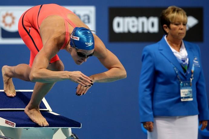 Manuella Lyrio mundial de kazan natação (Foto: Satiro Sodre/SSPress)
