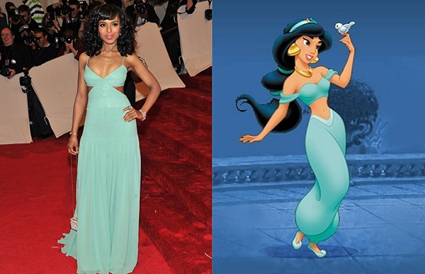 Kerry Washington como Jasmine (Foto: Getty Images)