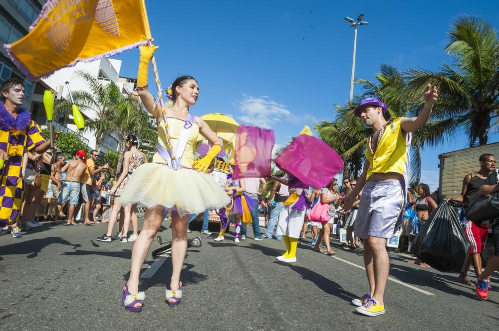 Carnaval de Rua (Foto: lazyllama / Shutterstock)