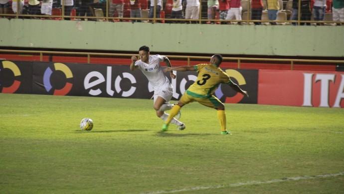 Galvez x Santos, Copa do Brasil, Arena da Floresta (Foto: João Paulo Maia)