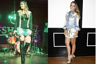 Aline Lima: antes e depois (Foto: Reprodução/Instagram - Celso Tavares/EGO)