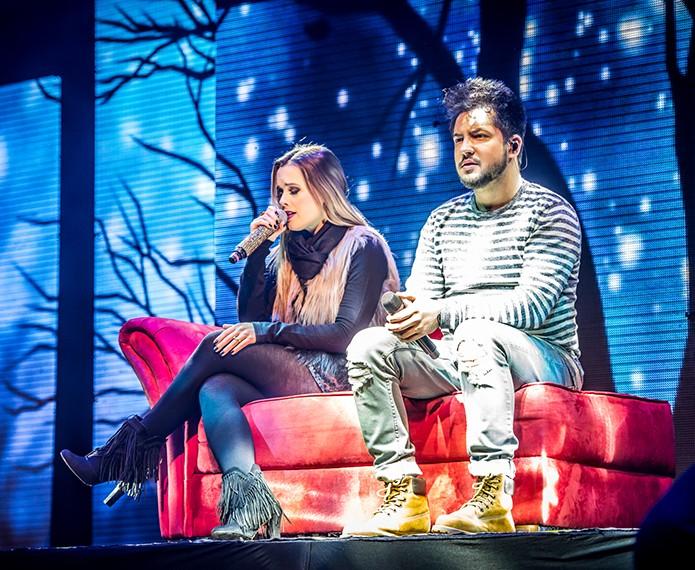 A dupla faz cerca de 20 shows por mês pelo Brasil inteiro (Foto: Divulgação)