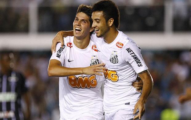 felipe anderson santos gol figueirense (Foto: Ricardo Saibun / Site Oficial do Santos)