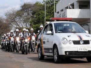 Polícia Militar inicia Operação Cavalo de Aço na tarde desta sexta (Foto: Divulgação)