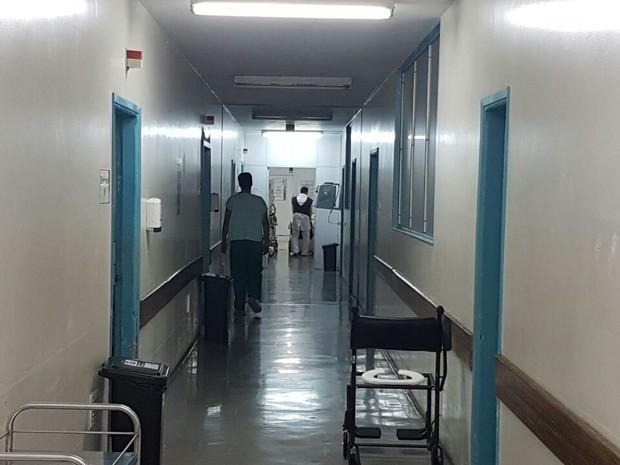 Dois recém-nascidos morrem após contrair superbactéria no HMI, em Goiás (Foto: Rodrigo Mansil/TV Anhanguera)