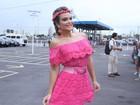 'A pegação rola solta', diz Geisy Arruda sobre o início do carnaval em SP