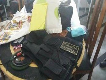 Polícia acredita que homem podia estar analisando área para possível crime (Foto: Divulgação//Major Eduardo)