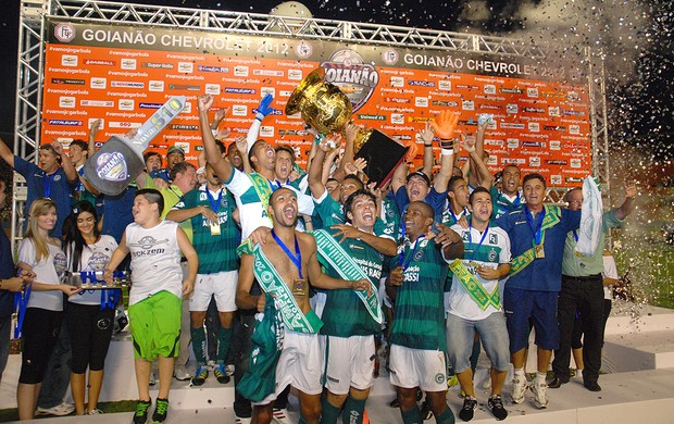 Goias, Taça de Campeão (Foto: André Costa / Agência Estado)