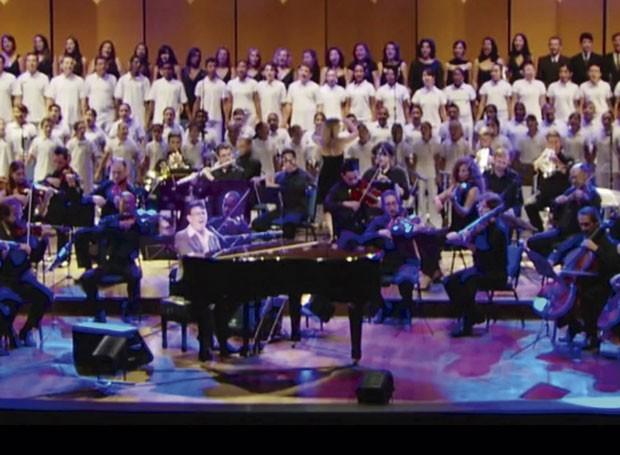 Venha fazer parte do coro de crianças do Show da Paz com Plínio Oliveira (Foto: Reprodução/ Arquivo Pessoal)