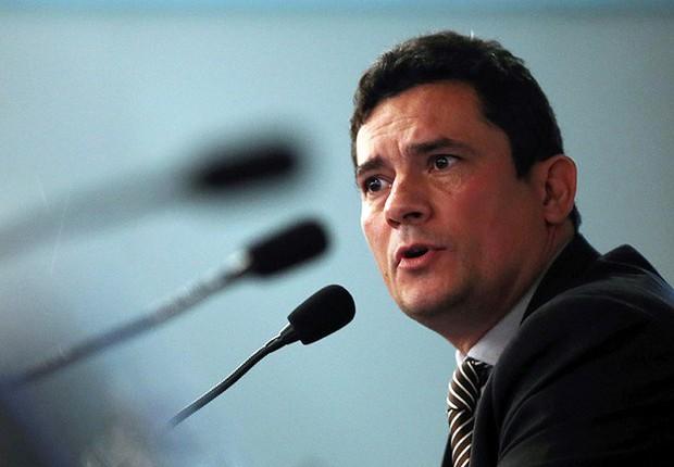 O juiz federal Sérgio Moro, da Lava Jato (Foto: Paulo Whitaker/Reuters)