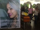 Sob comoção, 1ª vítima de tragédia que matou 9 é sepultada em Camaçari