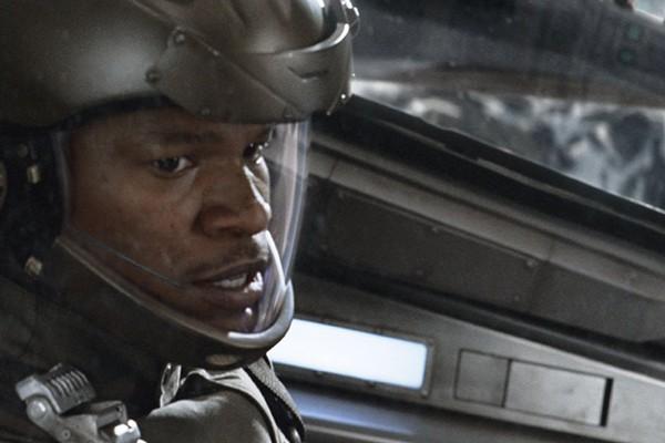 Jamie Foxx em Stealth - Ameaça Invisível (Foto: Divulgação)