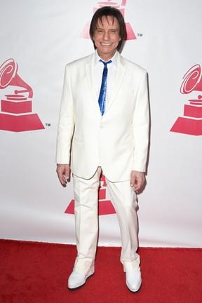 Roberto Carlos em prêmio de música em Las Vegas, nos Estados Unidos (Foto: Frazer Harrison/ Getty Images/ AFP)